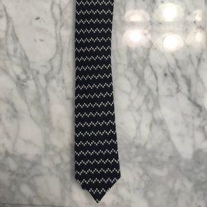 J. Crew Zig-Zag Wool Tie.